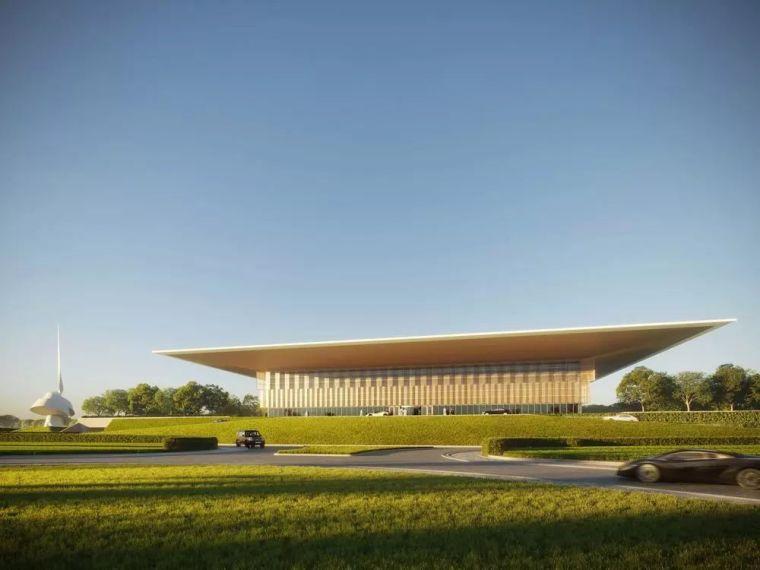 一个巨大的屋顶,15米宽的悬挑!!福斯特新设计图书馆+文化中心