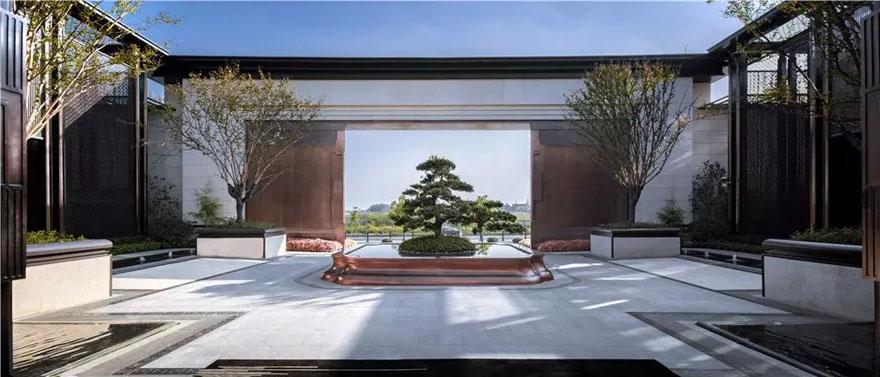 上海保利首创颂展示区景观-5