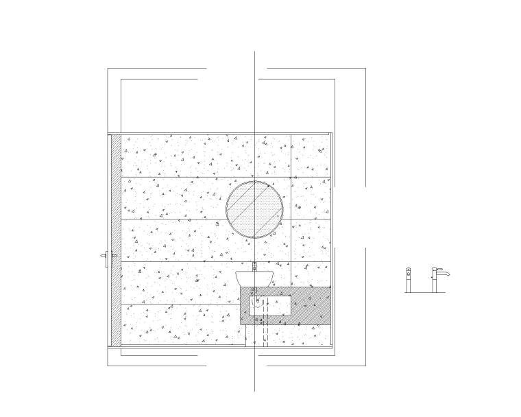 幕墙窗上口石材电动窗帘节点图