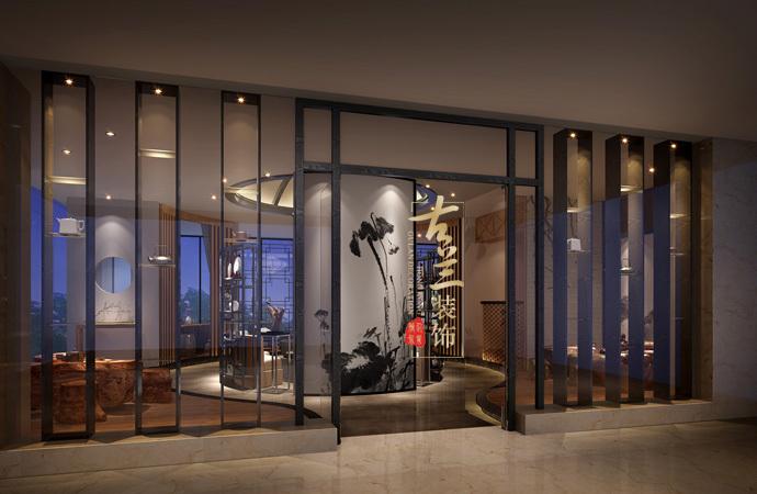 资阳茶楼装修设计公司,资阳茶楼设计公司-《福隆大酒店茶艺厅》