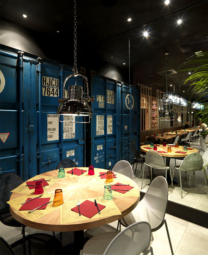 意大利Pizzikotto比萨餐厅_8
