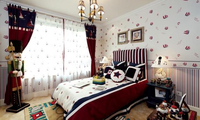 美家堂装饰:卧室装修墙纸用什么颜色最好。