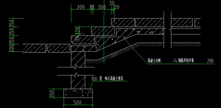 医院住院大楼全套图CAD_3