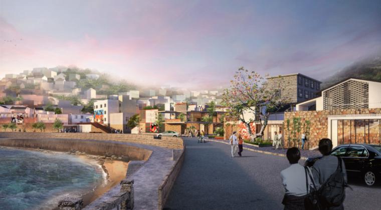 [浙江]沿海渔村整体改造方案设计(含CAD、SU模型、PS等3.7G)