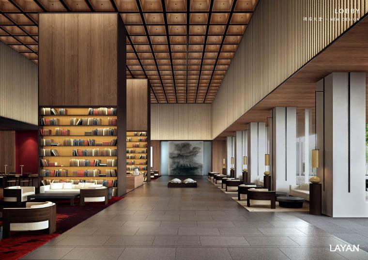 [四川]LAYAN-新中式风格 -成都璞锦酒店室内设计方案(两版,JPG+PDF)