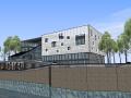 现代风格办公建筑模型设计