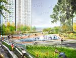 [山东]滨海生态水岸三维立体绿化休闲区景观设计方案