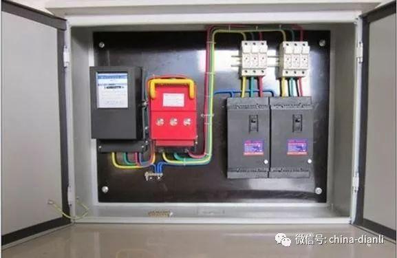 了解接线图才能安全快速的安装配电箱!