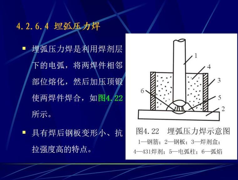钢筋混凝土工程(经典PPT,共230页)-埋弧压力焊10