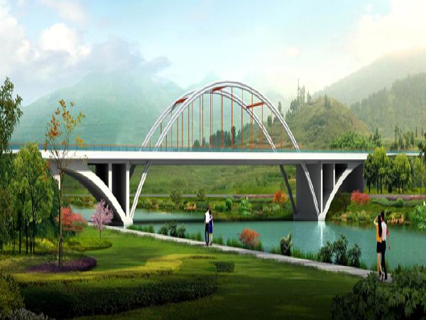 [贵州]中承式拱桥施工组织设计_1