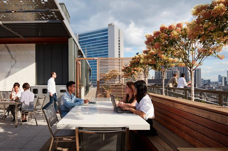 美国600WestChicago屋顶花园-美国600 West Chicago屋顶花园实景图 (3)
