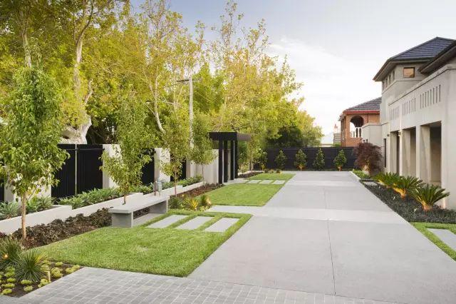 赶紧收藏!21个最美现代风格庭院设计案例_132
