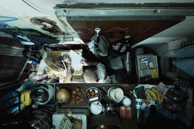 """没见过香港的""""棺材房""""都不知道我们住得多幸福_12"""