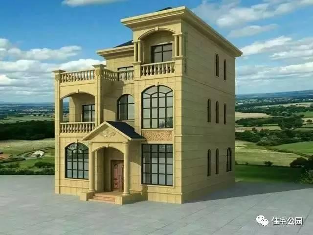 晒下我的家,仅80万建3层别墅小洋楼!
