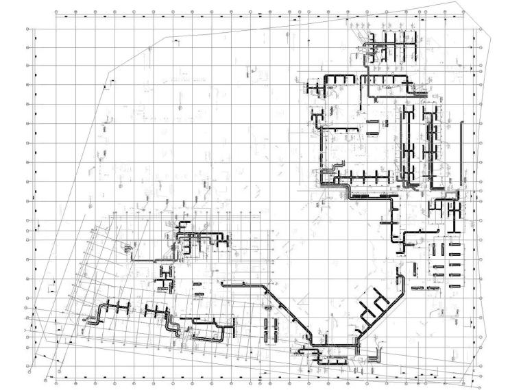 [天津]超高层办公酒店综合体暖通空调全系统设计施工图(632张)_2