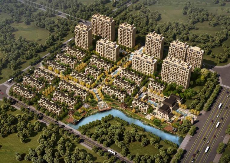 [上海]新华联上海某居住区规划建筑设计方案文本(PDF+94页)