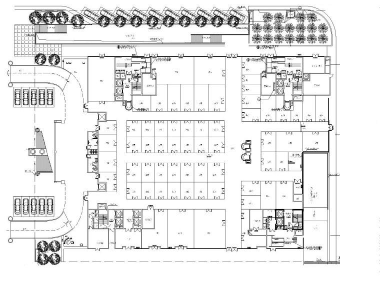 [重庆]某五星级大酒店全套装饰工程图(附效果图+物料表)