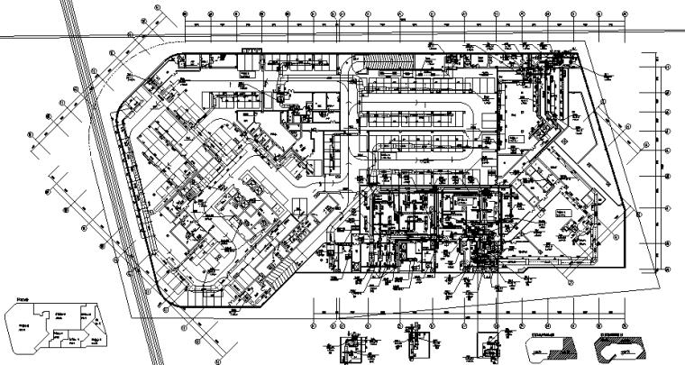 江西50层超高层酒店办公大厦暖通全套施工图(超级详细)_7