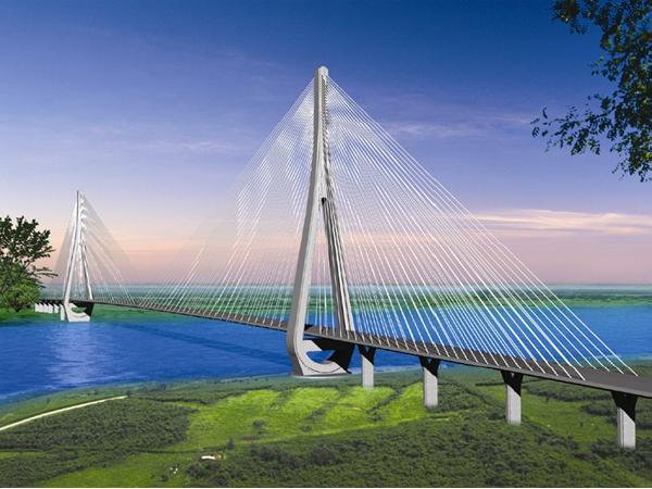 鄂东长江公路大桥A合同段施工组织设计(含大量施工图纸共569页)