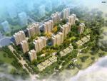 [湖南]高层塔式现代风格精品住宅小区建筑(含商业、幼儿园建筑)