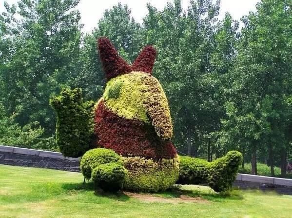 80个极美植物雕塑_34