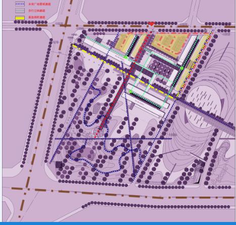 超高层现代风格未来广场项目建筑设计方案文本(含CAD)_7