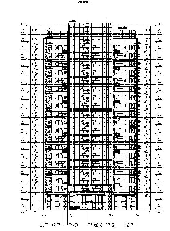 [河南]26层塔式住宅建筑施工图(16年全专业图纸)_1