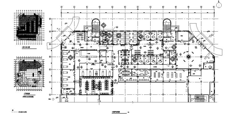 某大型医院门诊、急诊楼室内装修设计施工图(88张)