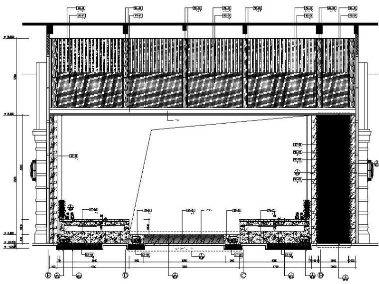[成都]韵艺静雅中式风售楼处室内设计施工图(含实景图)_2