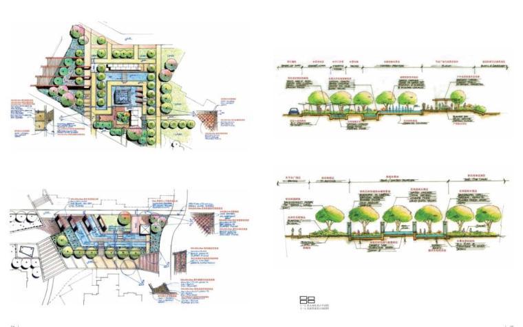 手绘景观方案与细部设计(中文版+PDF+161页)-天津时代奥城三期3