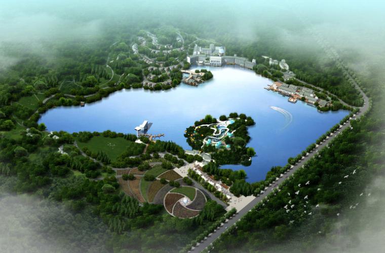 现代风格高层酒店地块规划建筑设计方案文本(含CAD)