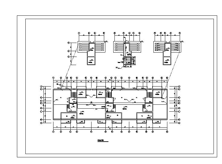 十一层住宅给排水施工图