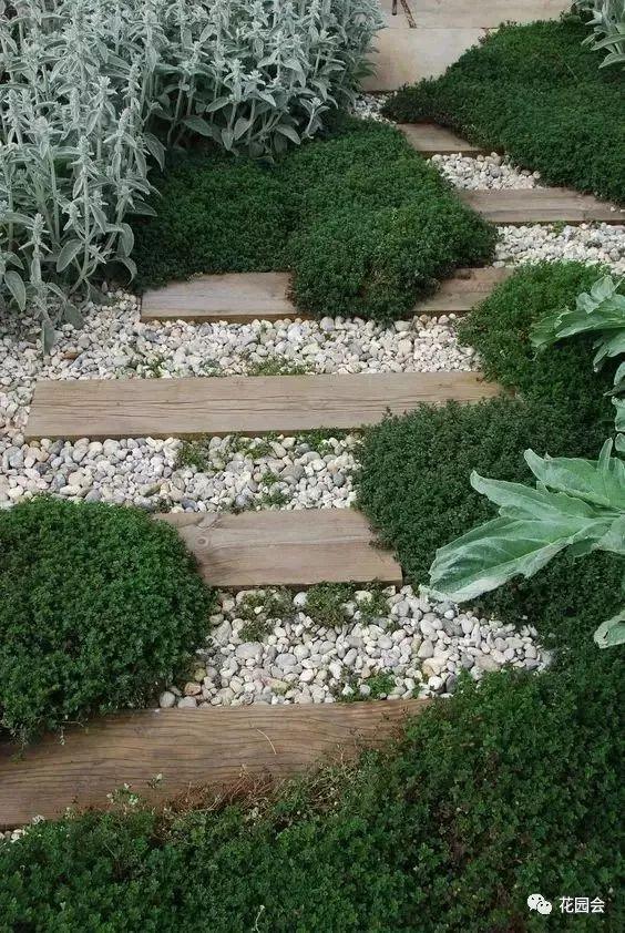 花草与石板的关系•花园小径_3