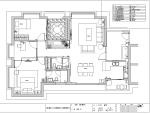 珠海海湾国际公寓示范单位室内设计施工图