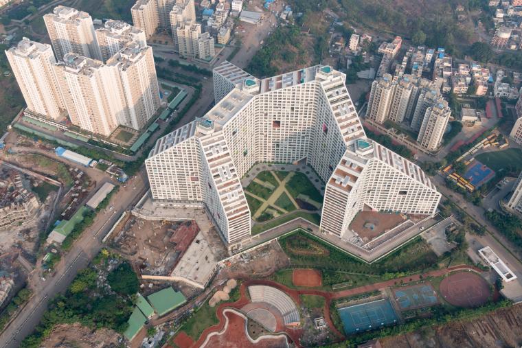 印度浦那未来之塔建筑-0696_Future_Towers_Pune_©Ossip