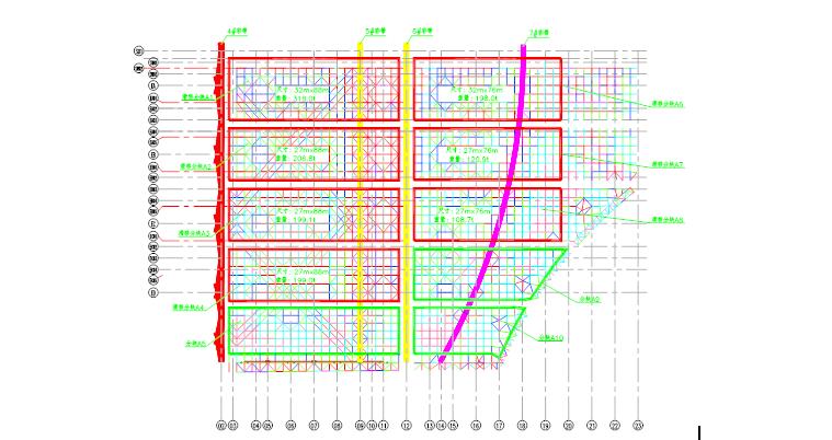 昆明新机场航站区航站楼屋盖钢网架提升与滑移整体计算