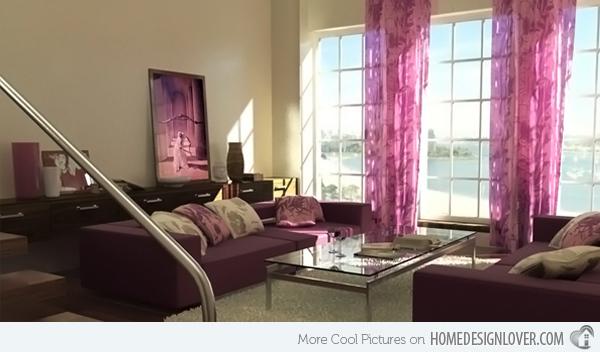 20个时尚的客厅装修设计案例_16