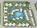 [四川]托斯卡纳风格别墅区中庭水景公园景观设计方案