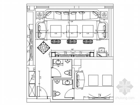[福建]欧式国际音乐会所包厢装修图(含效果)