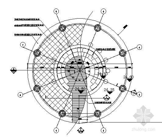 园亭建筑结构施工图