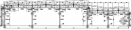某锅炉厂钢结构厂房全套结构图