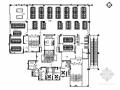 [湖北]温泉中心城区现代风格贵族网吧装饰施工图 (含效果)