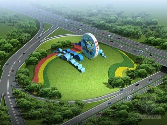 [江苏]新城高速沿线出入口匝道工程景观设计方案
