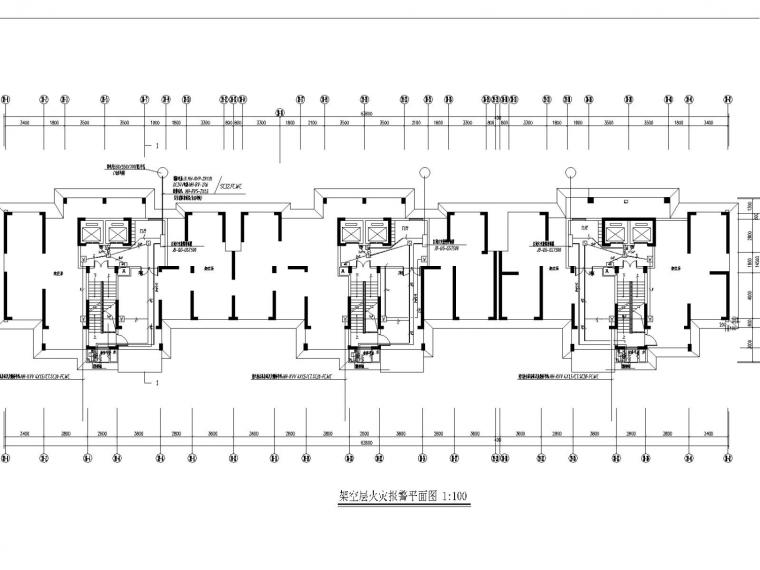 [江西]住宅小区全套电气设计施工图