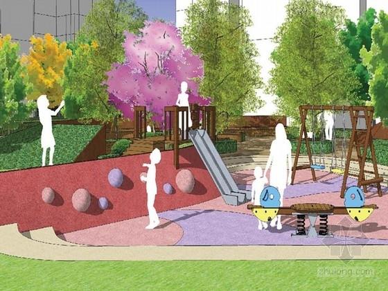 新古典沿街商业su模型资料下载-[浙江]当代新古典滨水住宅景观规划设计方案