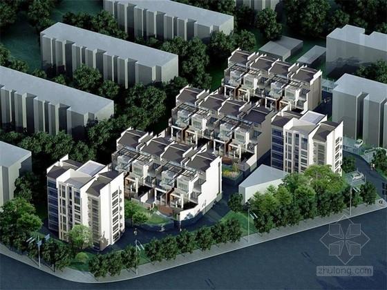 """[北京]城乡结合带""""融入城市""""开放式居住区景观规划设计方案"""