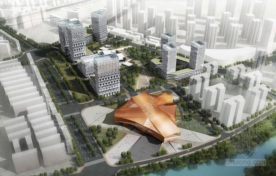 [云南]红铜表皮国际矿业交易中心建筑设计方案文本