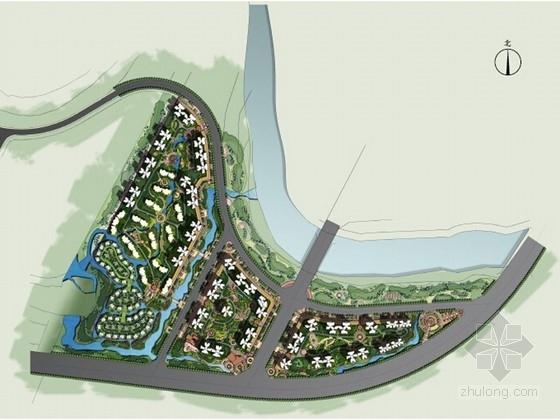 [成都]有机生态水城居住区景观概念方案