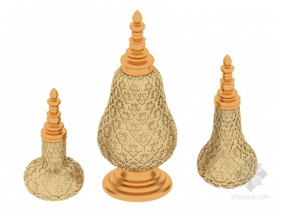 精美装饰件3D模型下载