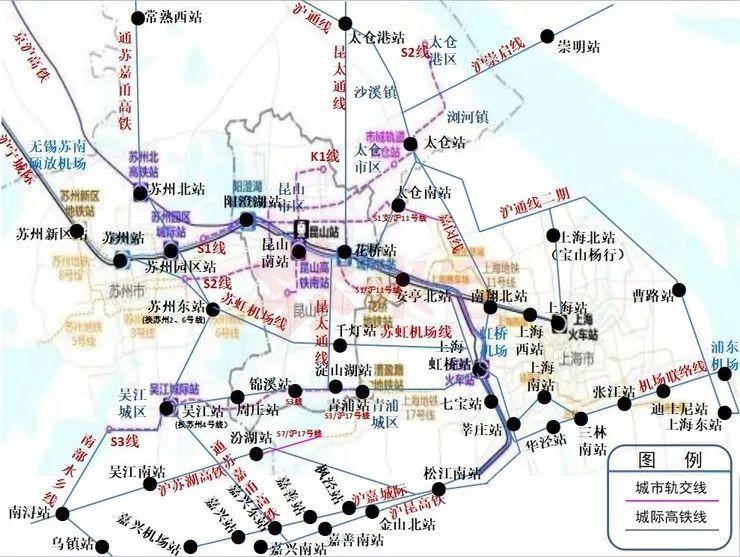 上海大都市圈轨道交通详解:城轨互连!通勤高铁、铁路密布_24